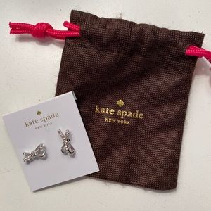 Kate Spade Tied Up Bow Earrings